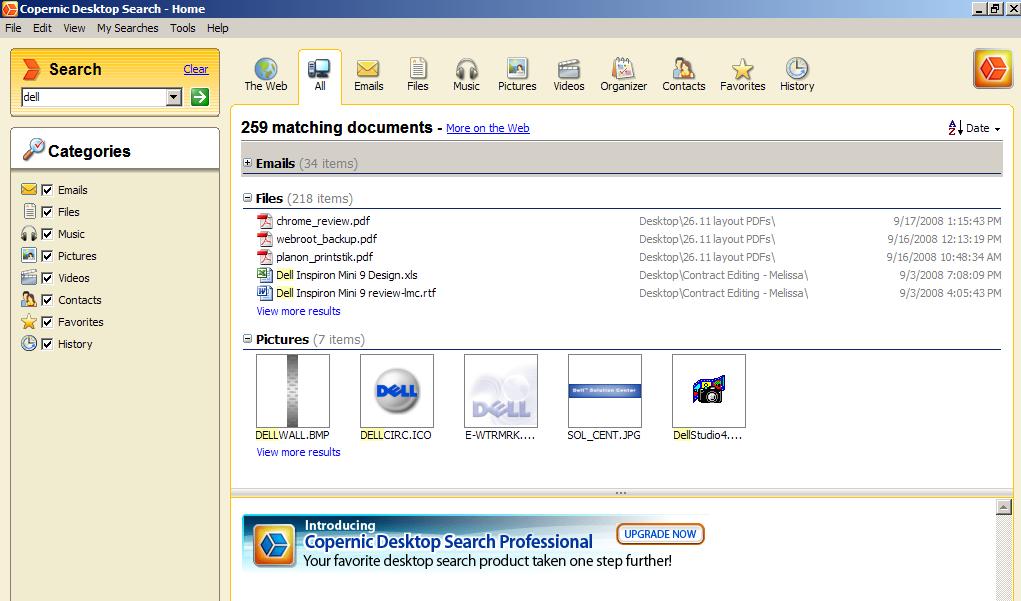 Copernic desktop search торрент - фото 7