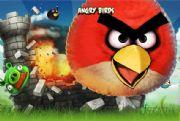 Популярная игра Angry Birds.